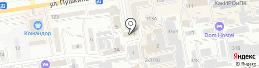 УФМС на карте Абакана