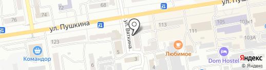 ЛОГОГРАД на карте Абакана