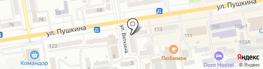Онкологический кабинет на карте Абакана