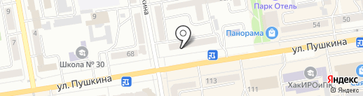 КБ Восточный, ПАО на карте Абакана