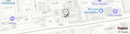 Магазин пряжи и рукоделия на карте Абакана