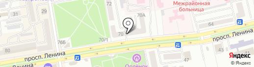 Loft на карте Абакана