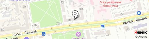 Exist.ru на карте Абакана