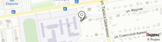 Деко Сталь на карте Абакана