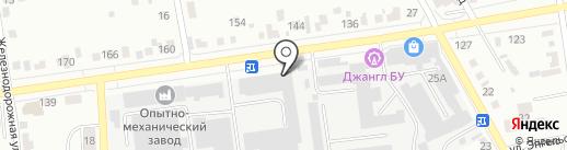 Магазин запчастей для японских грузовиков на карте Абакана