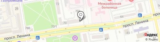 СКБ-банк, ПАО на карте Абакана