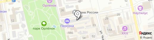 ТПУ на карте Абакана