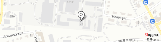 ПластСтрой на карте Абакана