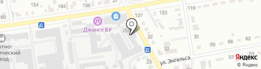 Тимiр имчi на карте Абакана