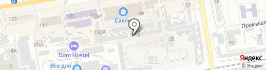 ГК-строй на карте Абакана