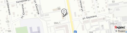 Новострой на карте Абакана
