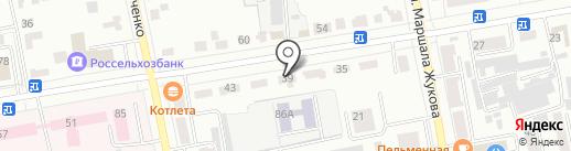 Топливная компания на карте Абакана
