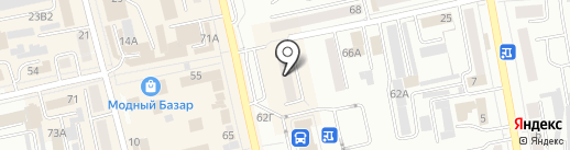 Аверса на карте Абакана