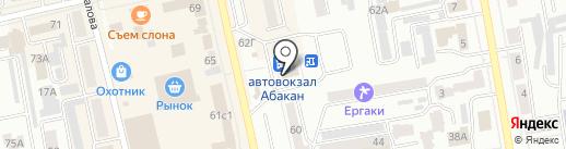 ДоброДеньги на карте Абакана
