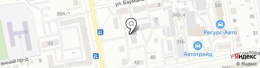 Реагент на карте Абакана