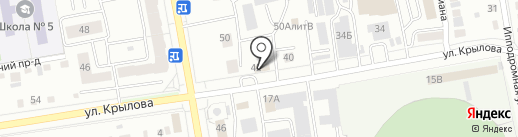 Новация на карте Абакана