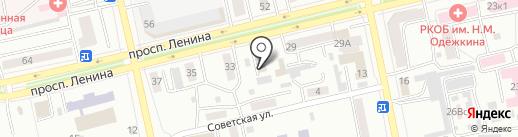 Автоателье на карте Абакана