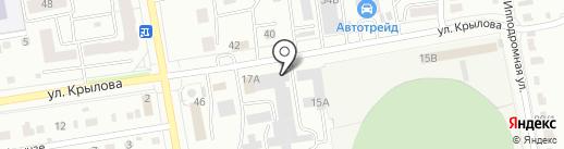 Статус на карте Абакана