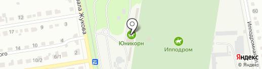 Ипподром на карте Абакана