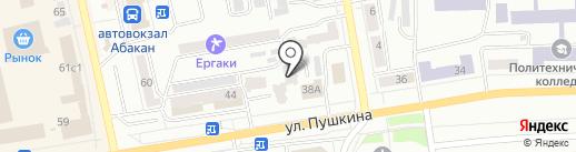 А`М-спорт на карте Абакана