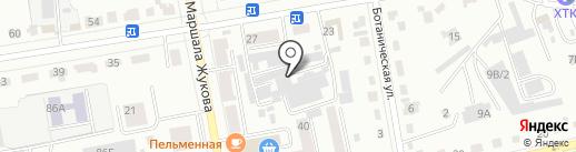ST Styling на карте Абакана