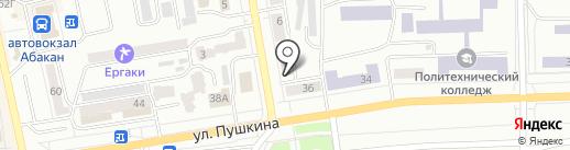 АutoEx на карте Абакана