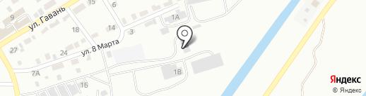 Навигатор на карте Абакана