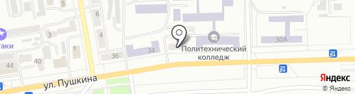 БОМОНD на карте Абакана