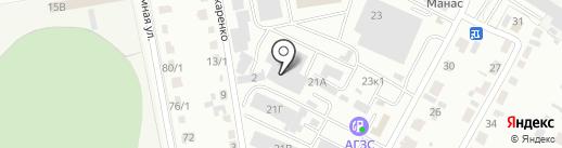 Роскорп на карте Абакана