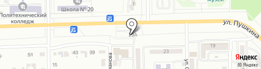 Абакан-IT на карте Абакана