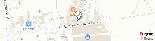 Колор Авто на карте Абакана