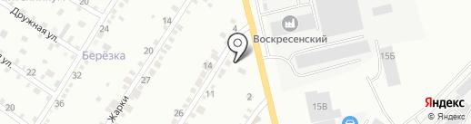 Дальнобойщик на карте Абакана