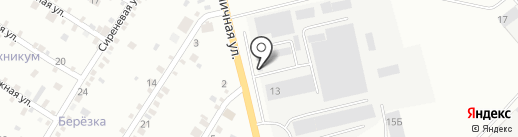 Полка на карте Абакана