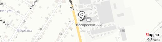 Сельбурвод на карте Абакана
