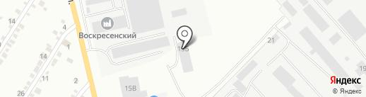 Транспортная компания на карте Абакана