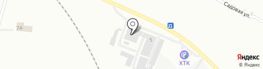 Сакура Моторс на карте Абакана