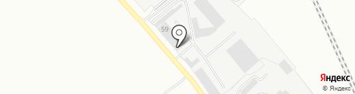 ФИНСИБ, ЗАО на карте Абакана