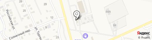 Грузовая шиномонтажная мастерская на карте Подсинего