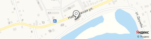 Серебряный шар на карте Подсинего