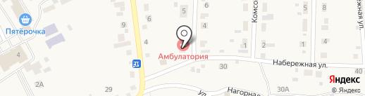Подсинская врачебная амбулатория на карте Подсинего