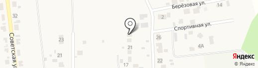 Транспортная компания на карте Подсинего