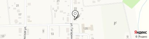 Группа Э3 на карте Подсинего