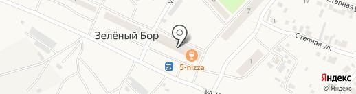 Участковый пункт полиции №4 на карте Минусинска