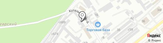 Паспортно-Визовый Сервис, ФГУП на карте Минусинска