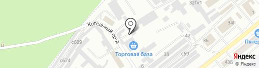 ТрансТаун на карте Минусинска