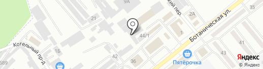 Бирюса на карте Минусинска