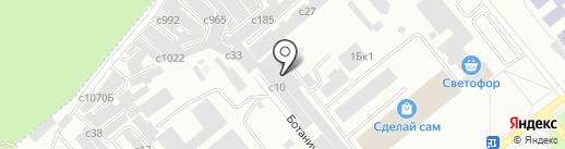 Идея на карте Минусинска