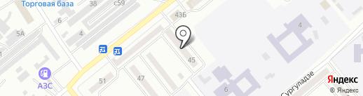 Минусинское ипотечное агентство на карте Минусинска