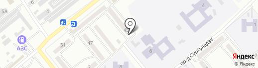 Юридический кабинет Снегирева А.И. на карте Минусинска