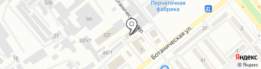 Натяжные потолки на карте Минусинска